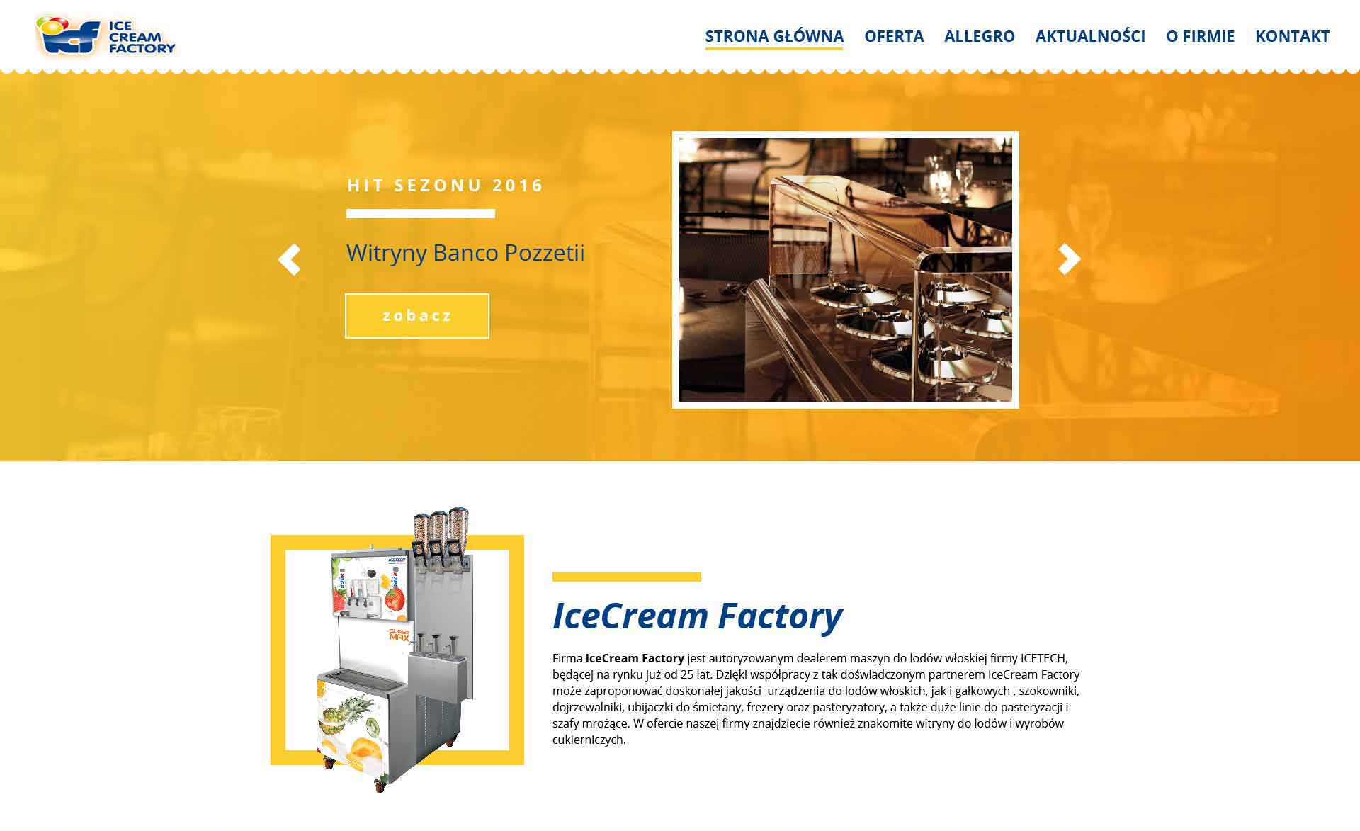 Ice Cream Factory top