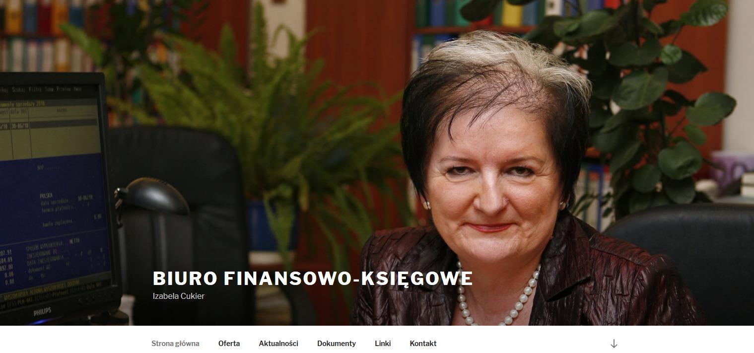 Biuro Finansowo Księgowe – Izabela Cukier