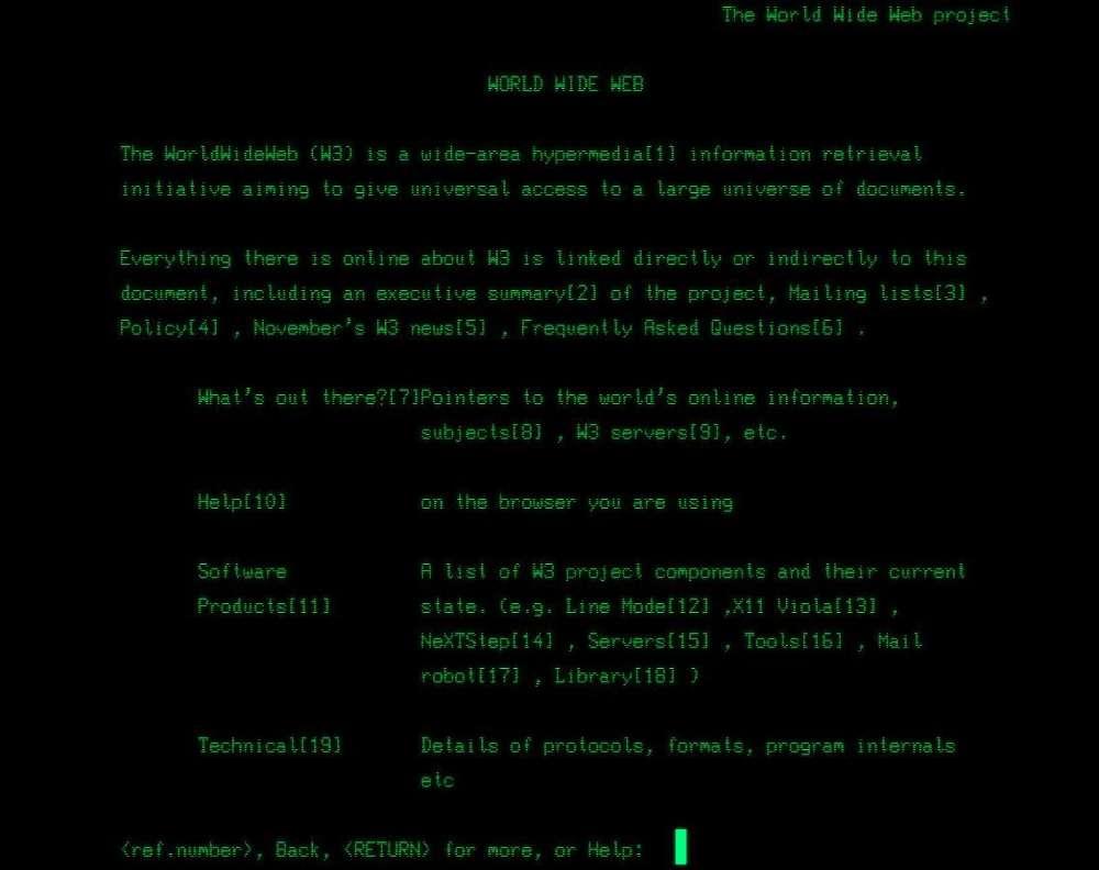 World Wide Web obchodzi swoje 30 urodziny. Jak to wyglądało na początku